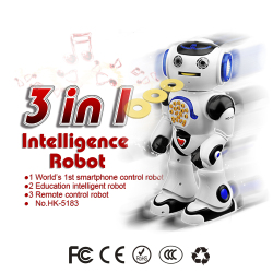 3 in 1 Smart RC Robot