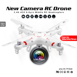 2.4G X5C Headless Camera Quad Copter