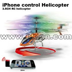 Ipod touch controlled mini rc helicopter