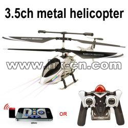 Iphone control rc helicopter, metal series heli toy