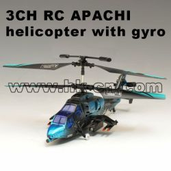 3CH RC APACHI helicopter with gyro HK-TF2345
