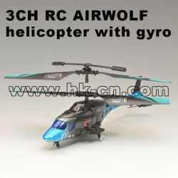 3CH RC APACHI helicopter with gyro  HK-TF2344