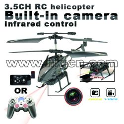 IR controlled rc camera helicopter