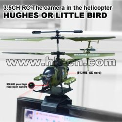 Real life camera rc helicopter