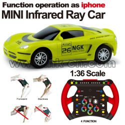 1:36 Scale RC Mini Racing Car graffiti car Gravity Sensing Car(HK-TV2073)