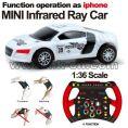 1:36 Scale RC Mini Racing Car graffiti car Gravity Sensing Car