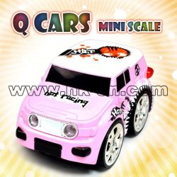 Mini Q Car, One Side 4 X 4 Wheel Driving