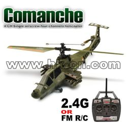 4 CH Single airscrew four channels helicopter(Comanche)