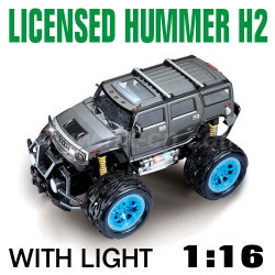 1:16 Scale Licensed Hummer H2 With LED lights and 4 colors (HK-TV8056B)