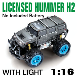 1:16 Scale Licensed Hummer H2 With LED lights and 4 colors  (HK-TV8056D)