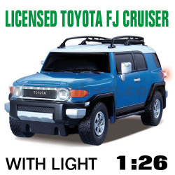 1:26 Scale Licensed TOYOTA FJ CRUISER With LED lights and 4 colors (HK-TV8059A)