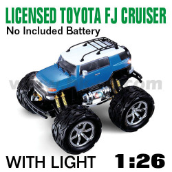 1:26 Scale Licensed TOYOTA FJ CRUISER With LED lights and 4 colors (HK-TV8059D)