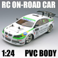 1:24 Scale High Speed On-Road RC Car PVC Body For sales