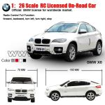 1:26 Scale RC Licensed On-road Car (small tyre, without battery)(HK-TV2083A)