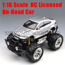 1:16 Scale RC Licensed On-road Car (big tyre, without battery)