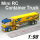 Mini 1:98 Scale RC Container Truck With Four Color Design (HK-TV7008B)