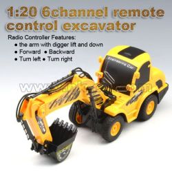 1:20 6channel remotecontrol excavator(HK-TV5056)