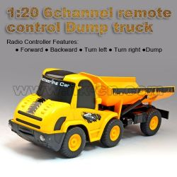 1:20 6channel remote control Dump truck (HK-TV5057)