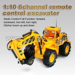 1:10 6channel remote control excavator(HK-TV2067)