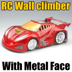 RC Wall climber Car With Metal Face and LEDs Light (HK-TV3034B)