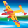 RC LEO-451 Aircraft Plane with Three Flight Lights (HK-TF8801)
