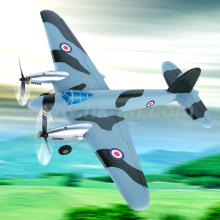 RC MOSQUITO 3 Aircraft Plane with Three Flight Lights (HK-TF8803)