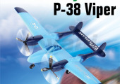 RC P-38 Viper Aircraft Plane with Three Flight Lights (HK-TF8804)