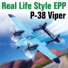 RC P-38 Viper Aircraft Plane with Three Flight Lights (HK-TF8804)