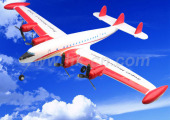 RC SUPER HISTORY L-1049 Aircraft Plane with Three Flight Lights (HK-TF9001)