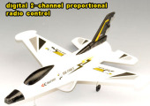 digital 2-channel proportional radio control Turbo Air Jet