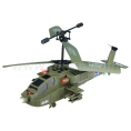 LED Lights Real Life rc Helicopter, Apache Fighter