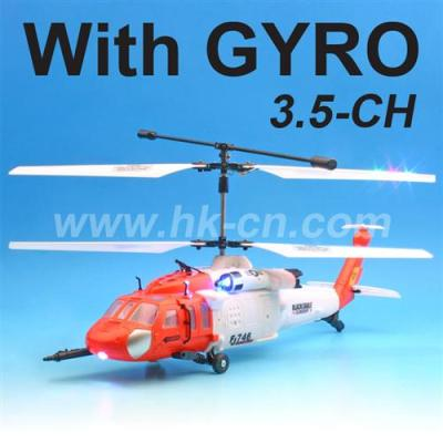 Helicóptero de control de remoto de tres direcciones (TF2109)