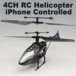 4 channel mini rc helicopter, Iphone controlled