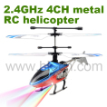Mini 4CH 2.4G RC helicopter with LED light