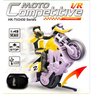 1:43 Scale Mini Stunt RC Motobike