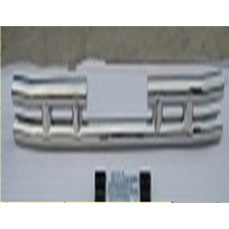 Rear skid bar