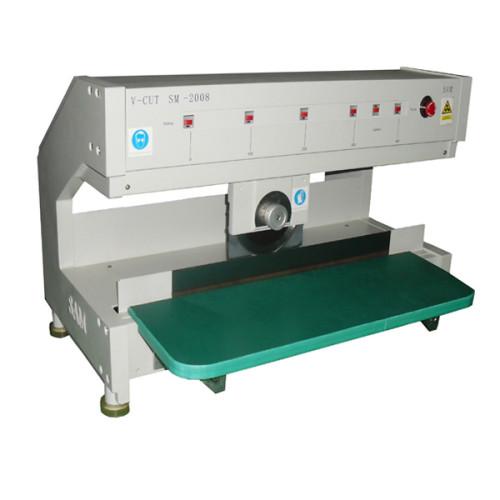 Separador conducido motorizado de la PCB SM-2008, máquina quepaneling PCB móvil de la cuchilla de corte