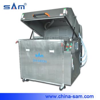 Wave solder pallets  cleaning machine