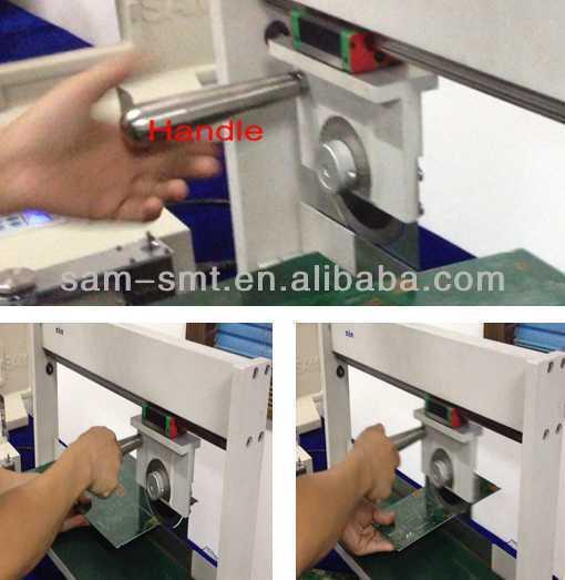 SM-2007 manual v-cut pcb separator