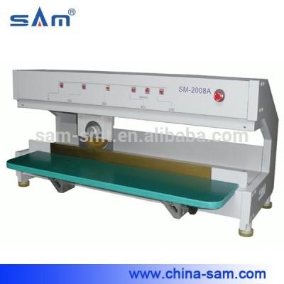 Máquina de separación de PCB móvil de hoja circular