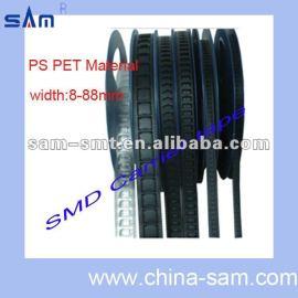 Cinta portadora personalizada PS / ABS / PET / PC / PVC