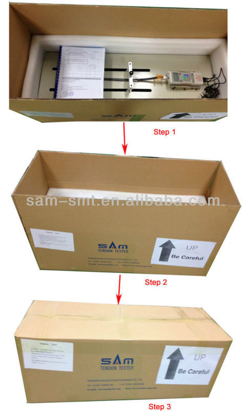 SMD carrier tape Peeling Force Tester