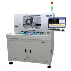Visão adicionada Separador automático PCB