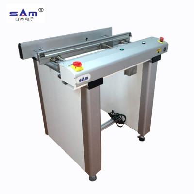 Transportador de inspección PCB SAM (100 cm), China Transportador de cadena / cinta PCB de alta calidad para montaje SMT