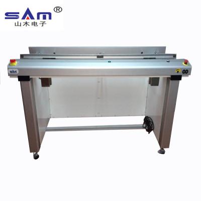 Transportador de inspección de PCB de 200 cm de longitud, transportador de PCB SMT para línea de montaje