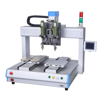 2 Y axis double screwdriver auto screw tightening machine, Automatic screw feeder &screwdriver system