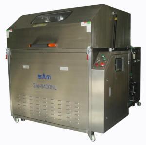 Máquina automática de limpeza de paletes