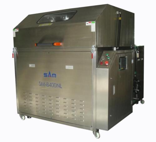 Máquina automática de limpieza de paletas Wave