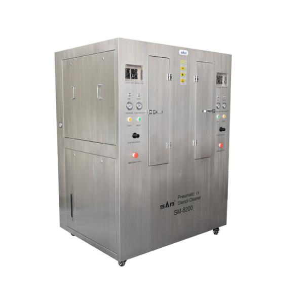 خزان مزدوج استنسل هوائي آلة التنظيف مع الفولاذ المقاوم للصدأ