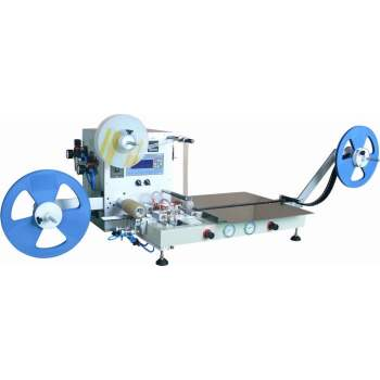 Semi-auto SMD component taping machine with empty pocket detection function